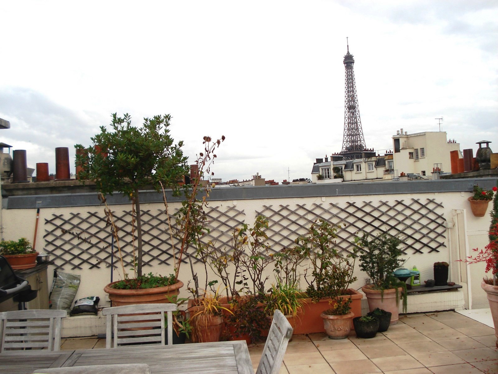 Appartement paris 16 me passy appartement au dernier tage for Appartement paris 12 terrasse