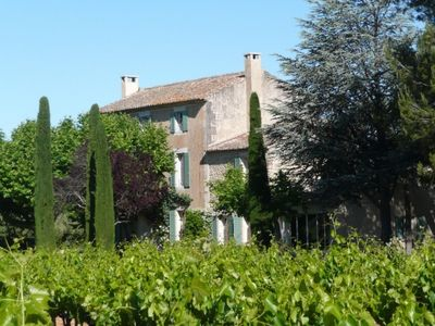 Bastide Oppede Fully restored, in the heart of the vines