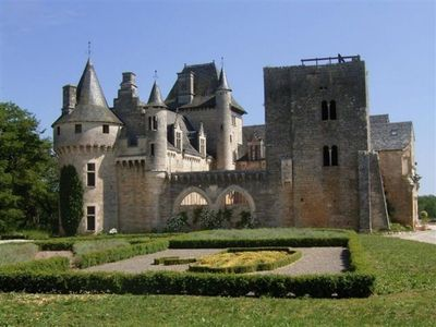 Castle Perigord Noir Lovely, 13th century chateau in Perigord Noir.